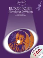Guest Spot: Elton John Playalong For Violin Sheet Music