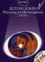 Guest Spot: Elton John Playalong For Alto Saxophone Sheet Music