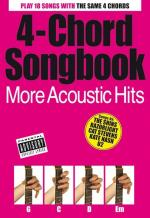 4-Chord Songbook: More Acoustic Hits Sheet Music