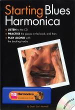 Starting Blues Harmonica (Book/CD/Harmonica) Sheet Music