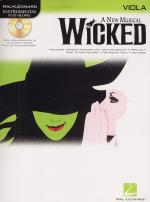 Hal Leonard Instrumental Play-Along: Wicked (Viola) Sheet Music
