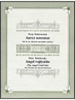 The Angel cried out Sheet Music