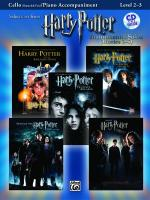 Harry Potter - Instrumental Solos (Movies 1-5) - Cello And Piano Accompaniment Sheet Music