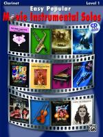 Easy Popular Movie Instrumental Solos - Clarinet Sheet Music