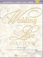 Wedding & Love Fake Book - 4th Edition Sheet Music