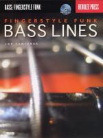Fingerstyle Funk Bass Lines (Book And CD) Sheet Music