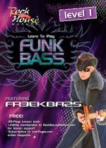 Learn To Play Funk Bass - Level One (DVD) Sheet Music