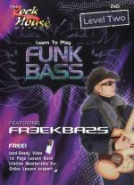 Learn To Play Funk Bass - Level Two (DVD) Sheet Music