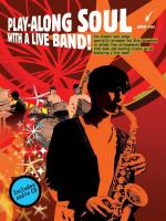 Play-Along Soul With A Live Band! - Alto Sax (Book And CD) Sheet Music