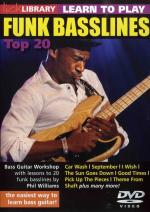 Lick Library: Learn To Play Funk Basslines - Top 20 Sheet Music
