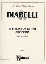 18 Pieces for Guitar and Piano Sheet Music