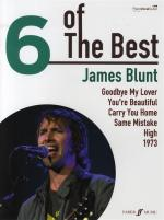 Six Of The Best: James Blunt Sheet Music