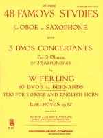 48 Famous Studies (1st Oboe Part) Sheet Music