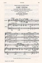 The Snow Op.26 No.1 (SSA) Sheet Music