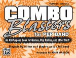 Combo Blasters for Pep Band - Part II (Eb Alto Saxophone) Sheet Music