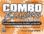 Combo Blasters for Pep Band - Part IV (Eb Baritone Sax) Sheet Music