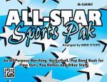 All-Star Sports Pak-  Bb Clarinet Sheet Music