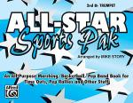 All-Star Sports Pak - 2nd Bb Trumpet Sheet Music