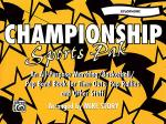 Championship Sports Pak - Xylophone Sheet Music