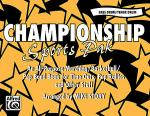 Championship Sports Pak - Bass Drum/Tenor Drum Sheet Music