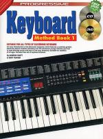 Progressive Keyboard Method: Book 1 (Book/CD/DVD) Sheet Music