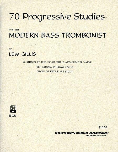 70 Progressive Studies for the Modern Bass Trombonist Sheet Music