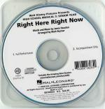 High School Musical 3 - Right Here Right Now (ShowTrax CD) Sheet Music