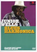 Hot Licks: Junior Wells - Blues Harmonica Sheet Music