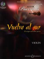 Vuelvo Al Sur 10 Tangos And Other Pieces - Violin Sheet Music