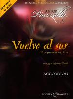Vuelvo Al Sur 10 Tangos And Other Pieces - Accordion Sheet Music