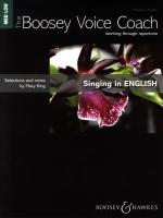 Mary King: Singing In English - Medium/Low Voice (The Boosey Voice Coach) Sheet Music