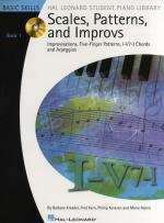 Scales, Patterns And Improvs - Book 1 (Book/CD) Sheet Music