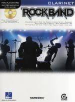 Hal Leonard Instrumental Play-Along: Rock Band (Clarinet) Sheet Music