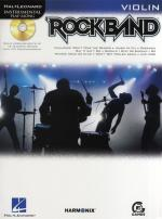Hal Leonard Instrumental Play-Along: Rock Band (Violin) Sheet Music