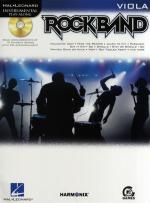 Hal Leonard Instrumental Play-Along: Rock Band (Viola) Sheet Music