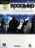 Hal Leonard Instrumental Play-Along: Rock Band (Cello) Sheet Music