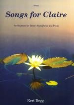 Songs For Claire - Soprano Or Tenor Saxophone/Piano Sheet Music