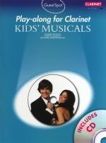Guest Spot: Kids' Musicals - Play-Along For Clarinet Sheet Music