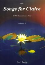 Songs For Claire - Alto Saxophone/Piano Sheet Music