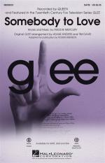 Queen: Somebody To Love (Glee) - SATB Sheet Music