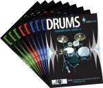 Rockschool Complete Drums Pack - Grades 1-8 + Companion Guide Sheet Music