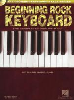 Hal Leonard Keyboard Style Series: Beginning Rock Keyboard Sheet Music