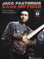 Ray Peterson: Jaco Pastorius Bass Method Sheet Music