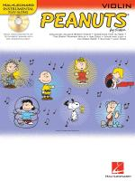 Hal Leonard Instrumental Play-Along: Peanuts (Violin) Sheet Music