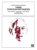 Three Paraguayan Dances Sheet Music