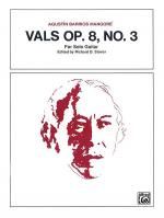 Vals, Op. 8, No. 3 Sheet Music