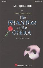 Masquerade (The Phantom Of The Opera) - SATB/Piano Sheet Music