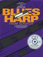 Blues Harp From Scratch (Book/CD) Sheet Music
