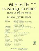 Twenty-Four (24) Flute Concert Studies Sheet Music