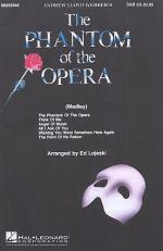 Phantom Of The Opera Choral Medley (SAB) Sheet Music